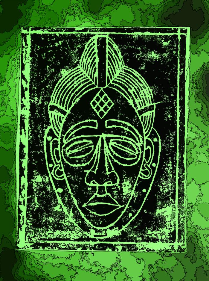Digital art | African traditional masks